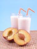 smoothite персика Стоковые Изображения
