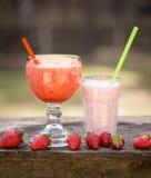 Smootie de fraise photo libre de droits