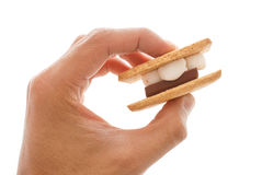 Smore Sandwhich Royalty Free Stock Photography