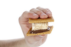 Smore sandwich Royalty Free Stock Photography