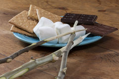 Smores Ingredients Stock Images