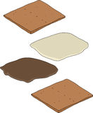 Smores Parts Stock Images