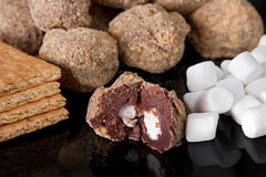 Smores truffles Royalty Free Stock Photos