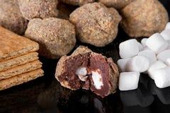 Smores truffles Royalty Free Stock Photos