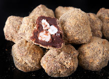 Smores truffles Stock Photos