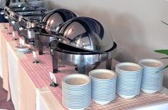 Smorgasbord, food choice of breakfa Royalty Free Stock Photography