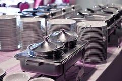 Smorgasbord, opción de la comida del breakfa Fotos de archivo libres de regalías