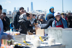 Smorgasburg in Williamsburg, Brooklyn, New York City Stock Photography