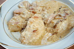 Smothered Chicken Stock Photography