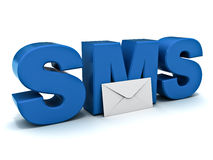 Sms concept Stock Photos