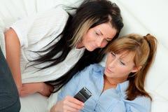 Sms de filles Photos libres de droits