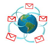 SMS & Email Royalty Free Stock Images