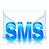 Sms Envelope Stock Image
