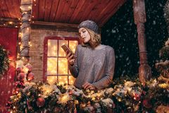 Sms for holidays stock images