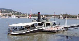 SMS Leitha dziejowy okręt wojenny Fotografia Royalty Free