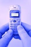 SMS - Mensajes a través del teléfono imágenes de archivo libres de regalías