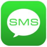SMS, Mitteilung, Vektor, Chat lizenzfreie abbildung