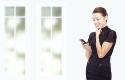SMS pleasure Stock Photo