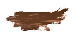 Smudged изолированный выплеск краски Стоковые Фотографии RF