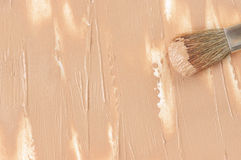 Smudged face concealer background Royalty Free Stock Images