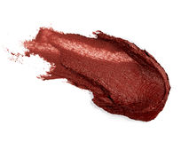 Smudged lipstick Royalty Free Stock Image