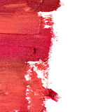 Smudged lipstick Royalty Free Stock Photo