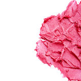 Smudged lipstick Stock Photography