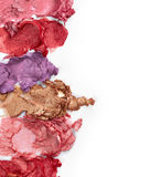 Smudged lipsticks Royalty Free Stock Photo