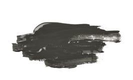 Smudged pluśnięcie odizolowywający farba obraz stock