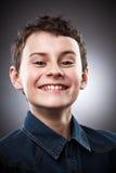 Smug kid Stock Images