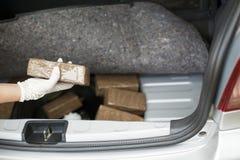 Smuggla för drog Fotografering för Bildbyråer