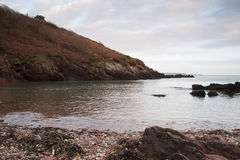 Smuggler's Cove. Near Dale, South Wales Stock Photo
