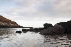 Smuggler's Cove. Near Dale, South Wales Royalty Free Stock Images
