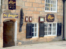 Smuggler's inn 1401 AD, at Whitby Stock Image