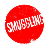 Smuggling rubber stamp Stock Photography