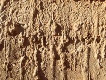 Smugi brown glina obraz stock
