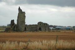 Smula den skotska slotten royaltyfri fotografi