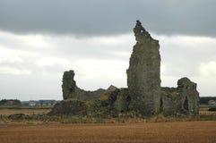 Smula den skotska slotten arkivbilder