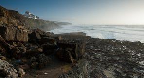 Smula klippor, Portugal royaltyfria bilder