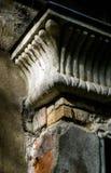 Smula kornischen i egyptisk stil Arkivbilder