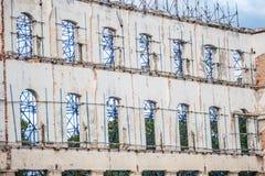 Smula kubansk byggnad royaltyfria foton