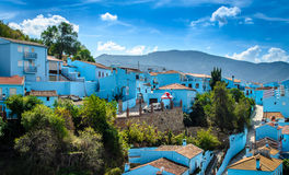 Juzcar, The Smurf Village Royalty Free Stock Image