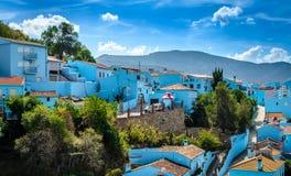 Juzcar, The Smurf Village Royalty Free Stock Image