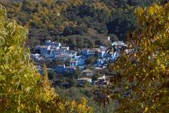 Smurf village Stock Photo
