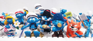 The Smurfs Stock Photo