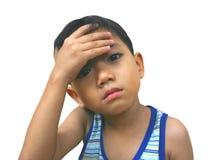smutna chłopca Zdjęcia Stock