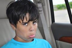 Smutna chłopiec Zdjęcie Stock