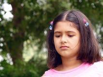 smutna dziewczyna Fotografia Royalty Free