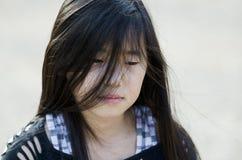 Smutna dziewczyna Obraz Royalty Free