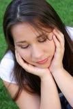 smutna dziewczyna zdjęcia stock